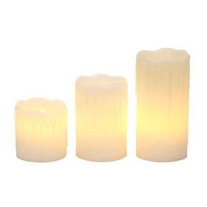Zestaw 3 świeczek LED Lights