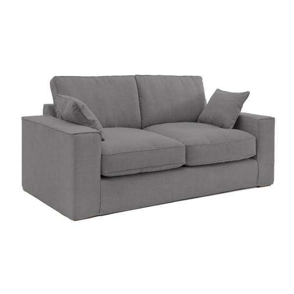 Szara sofa trzyosobowa Vivonita Jane