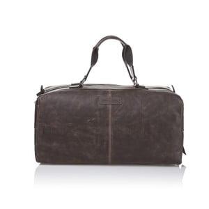 Męska torba skórzana Ferruccio Laconi 102 Brown