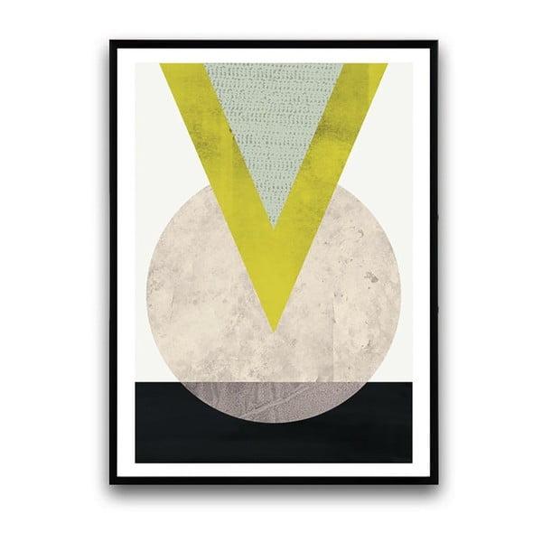 Plakat w drewnianej ramie Eruca, 38x28 cm