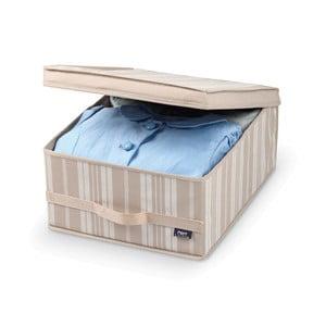 Średni pojemnik na ubrania Domopak Stripes, dł. 45 cm