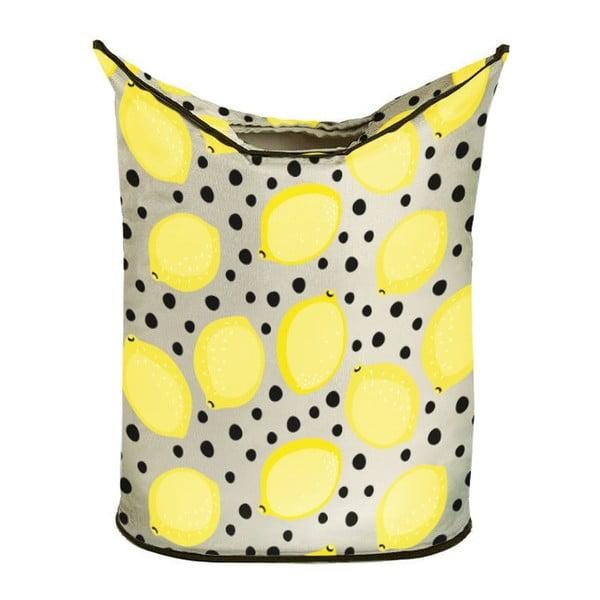Kosz na bieliznę Lemon In Dots