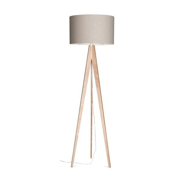 Lampa stojąca Artist Grey/Birch, 150x42 cm