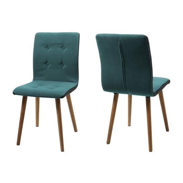 Krzesło do jadalni Frida, turkusowe