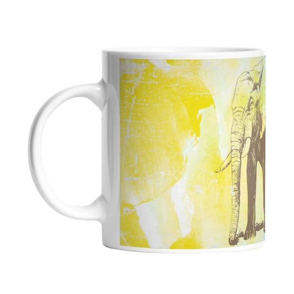 Ceramiczny kubek Butter Kings Pencil Elephant, 330 ml