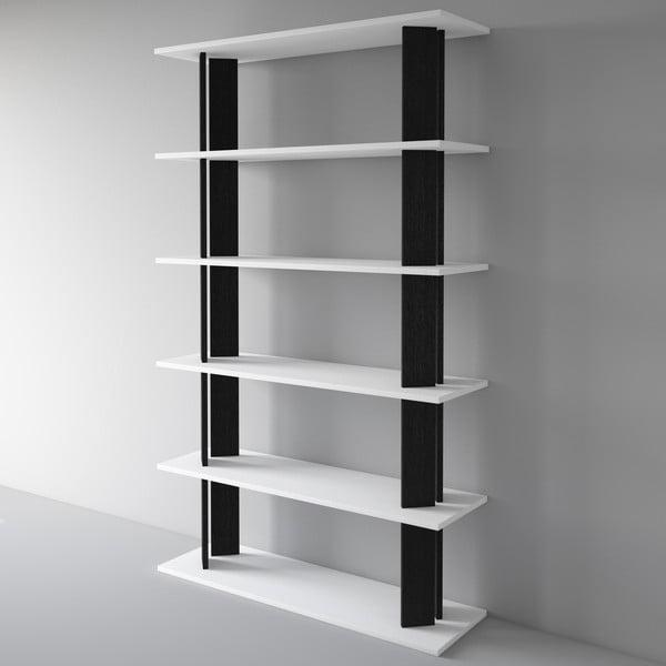 Biblioteczka Replay 186x110 cm, czarna