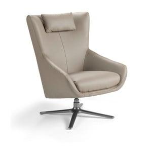 Skórzany fotel obrotowy Ángel Cerda Berta