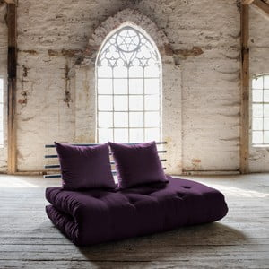 Sofa rozkładana Karup Shin Sano Black/Purple