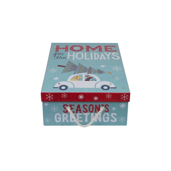 Zestaw 3 szt. pudełek Tri-Coastal Happy Holidays