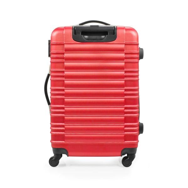 Zestaw 3 walizek Gull, czerwone