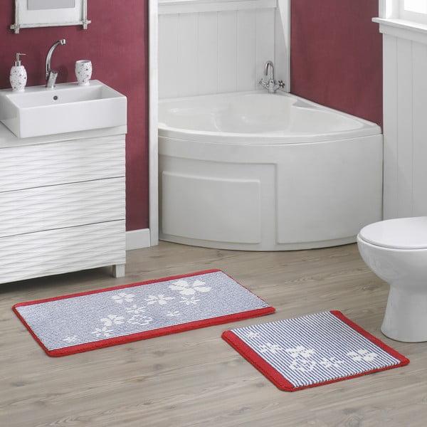 Zestaw 2 dywaników łazienkowych Thalassia