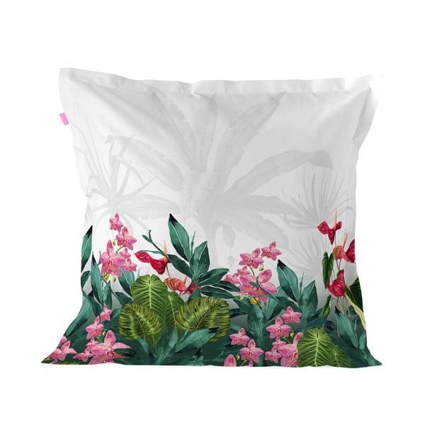 Poszewka  na poduszkę z czystej bawełny Happy Friday Tropic,60x60cm