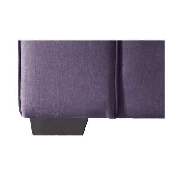 Sofa dwuosobowa Jalouse Maison Serena, fioletowa