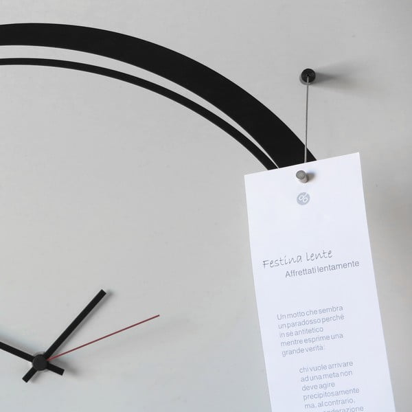Zegar ścienny Senso Clock White, 80x80 cm