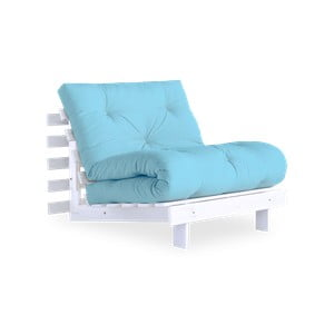 Fotel wielofunkcyjny Karup Design Roots White/Celeste
