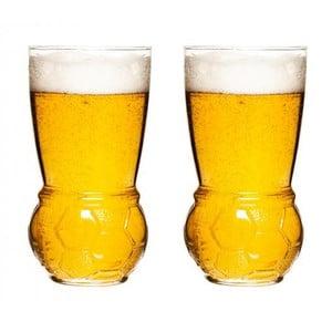 Zestaw   2 szklanek do piwa Sagaform Football