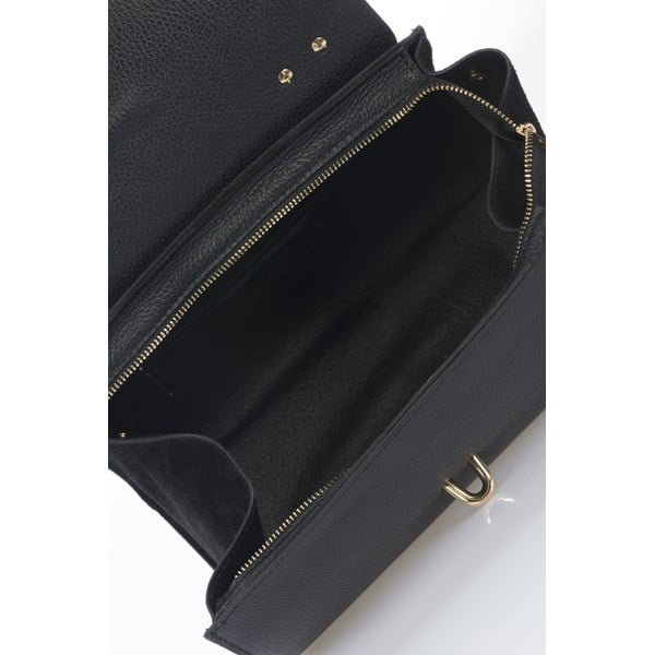 Czarna torebka skórzana Markese Genoveffa