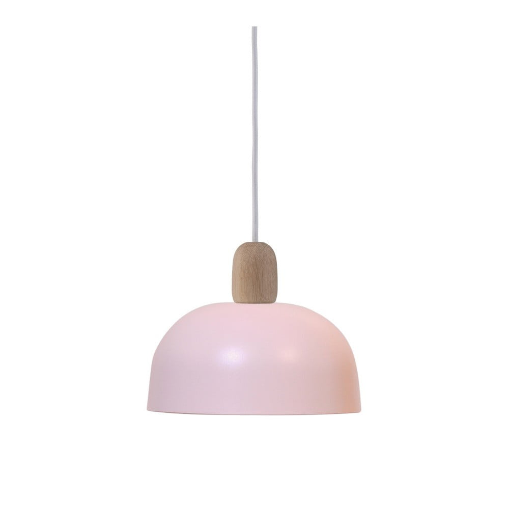 Różowa lampa wisząca HARTÔ Nina