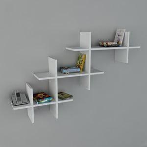 Półka Valentino Book White, 22x140x84 cm