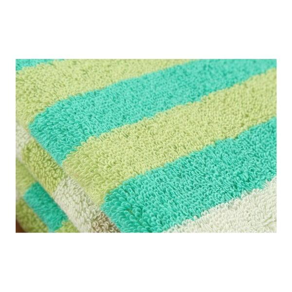 Zestaw 3 ręczników  Peggy Pool Green, 50x100 cm