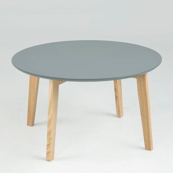 Szary stolik Actona Molina, ⌀50 cm