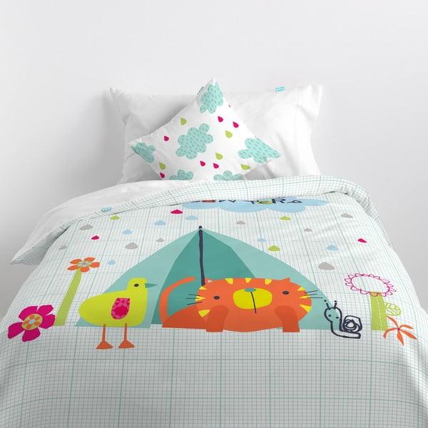 Bawełniana pościel dziecięca Baleno Happy Campers, 140x200 cm