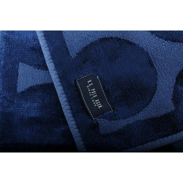 Dywanik łazienkowy U.S. Polo Assn. Orem Dark Blue, 60x100 cm