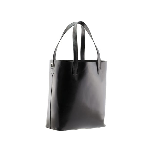 Czarna torebka skórzana Markese 8768
