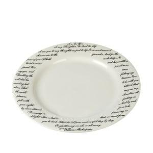 Porcelanowy talerz Shakespeare, 27 cm