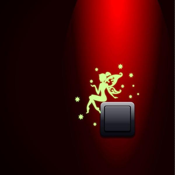 Naklejka świecąca w ciemności Ambiance Fairy with the Stars
