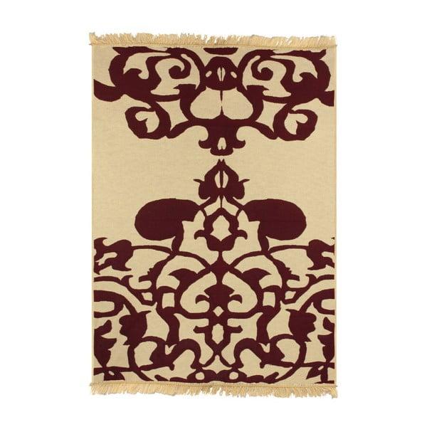 Czerwony dywan Floorist Agac Claret Red, 80x150 cm