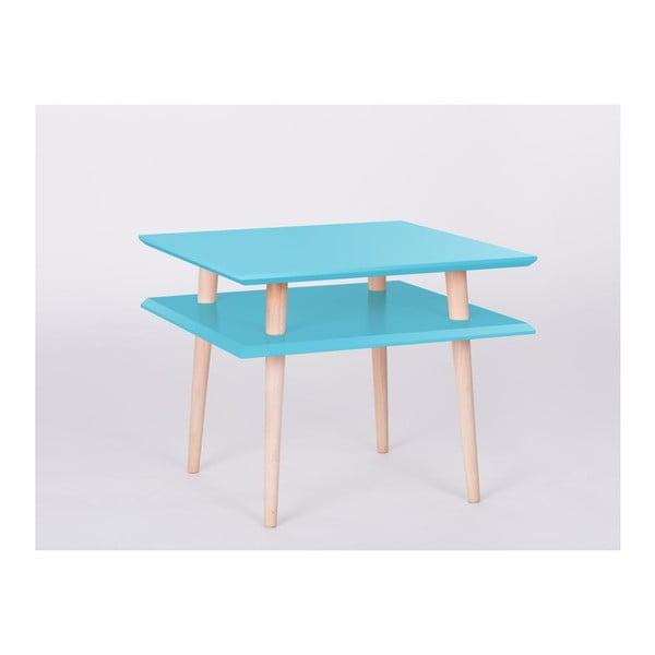 Stolik kawowy UFO Square Dark Turquoise, 45 cm