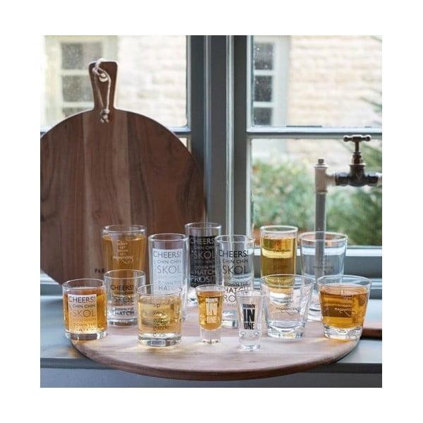 Szklaneczki do whiskey Glass, 4 szt.
