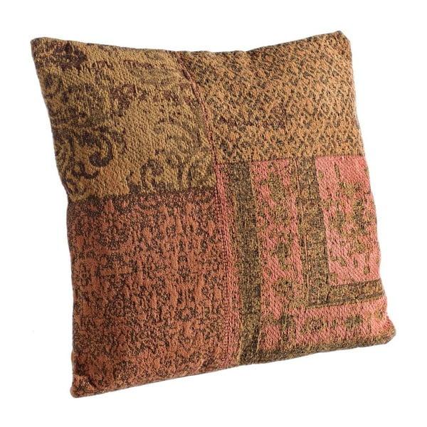 Poduszka z wypełnieniem Twist Arancio, 50x50 cm