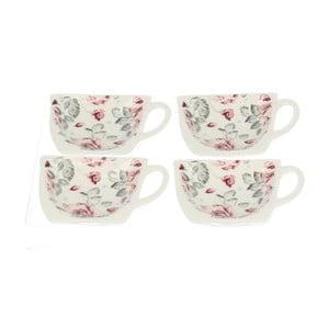 Zestaw 4 podstawek na woreczki od herbaty Duo Gift Róża