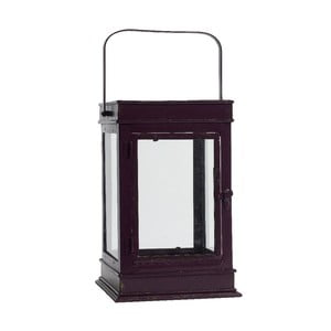 Lampion Square Aubergine L
