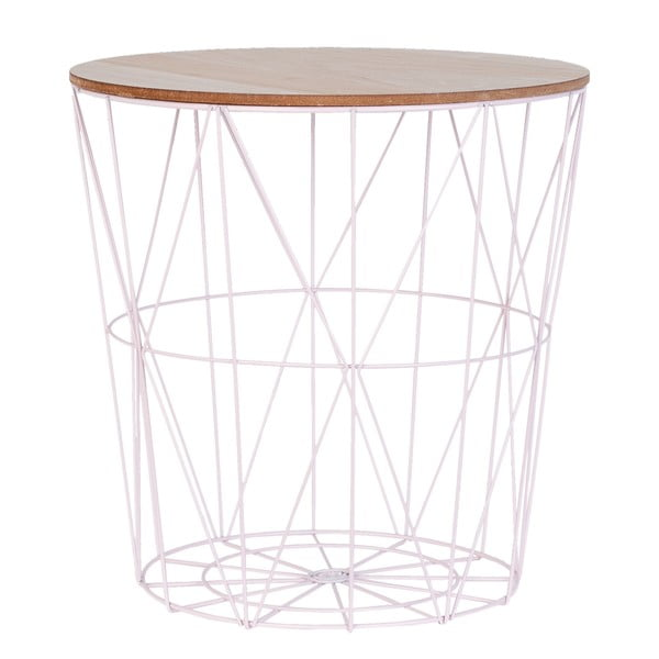 Jasny stolik Basket Light