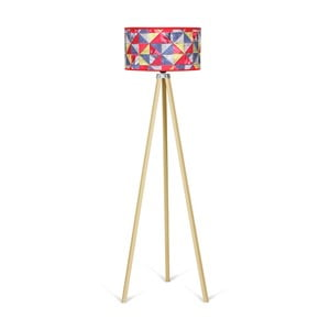 Lampa stojąca Kate Louise Naturel Patchwork