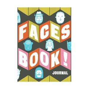 Notatnik Chronicle Books Faces Book! Journal