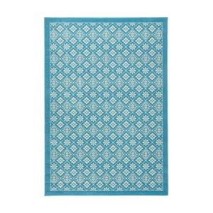 Jasnoniebieski dywan Hanse Home Gloria Tile, 80x150 cm