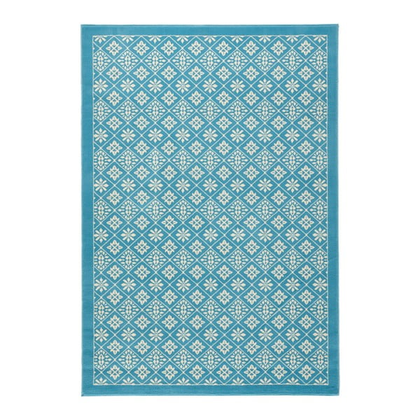 Jasnoniebieski dywan Hanse Home Gloria Tile, 160x230 cm
