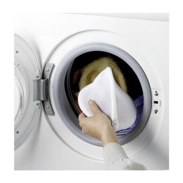 Zestaw 2 białych siatek do prania bielizny Wenko