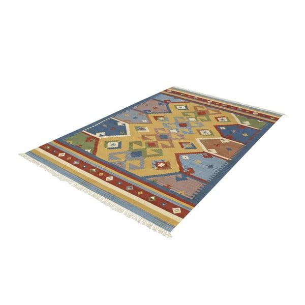 Ręcznie tkany dywan Kilim Classic K05 Mix, 155x215 cm