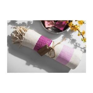 Ręcznik hammam Moss Purple, 95x175 cm