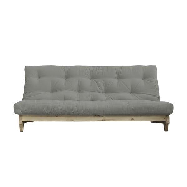 Sofa rozkładana Karup Design Fresh Natural/Grey