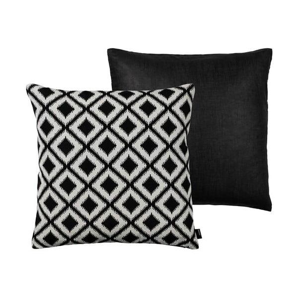 Poduszka Ikat Weave Black, 50x50 cm