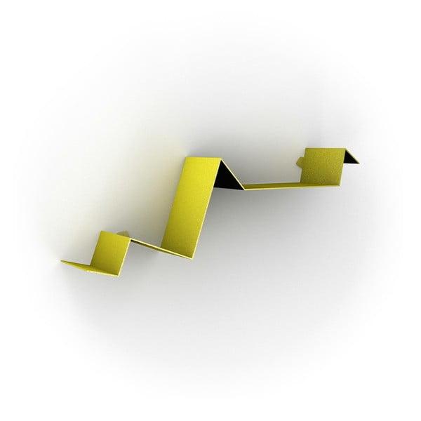 Półka Zig Zag, żółta