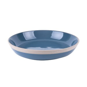 Niebieski talerz terakotowy PT LIVING Brisk, ⌀23,5cm
