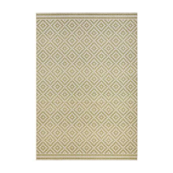 Zielony dywan nadający się na zewnątrz Hanse Home Karo, 140 x 200 cm