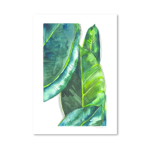 Plakat Banana Leaves, 30x42 cm